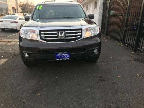 2012 Honda Pilot for sale at JFC Motors Inc. in Newark NJ