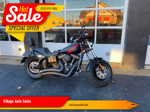 2014 Harley Davidson FatBob for sale at Village Auto Sales in Milford CT