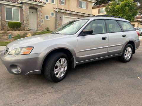 2005 Subaru Outback for sale at CALIFORNIA AUTO GROUP in San Diego CA