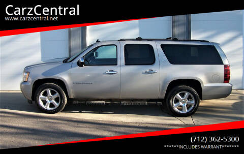 2008 Chevrolet Suburban for sale at CarzCentral in Estherville IA