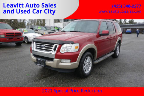 2010 Ford Explorer for sale at Leavitt Auto Sales and Used Car City in Everett WA