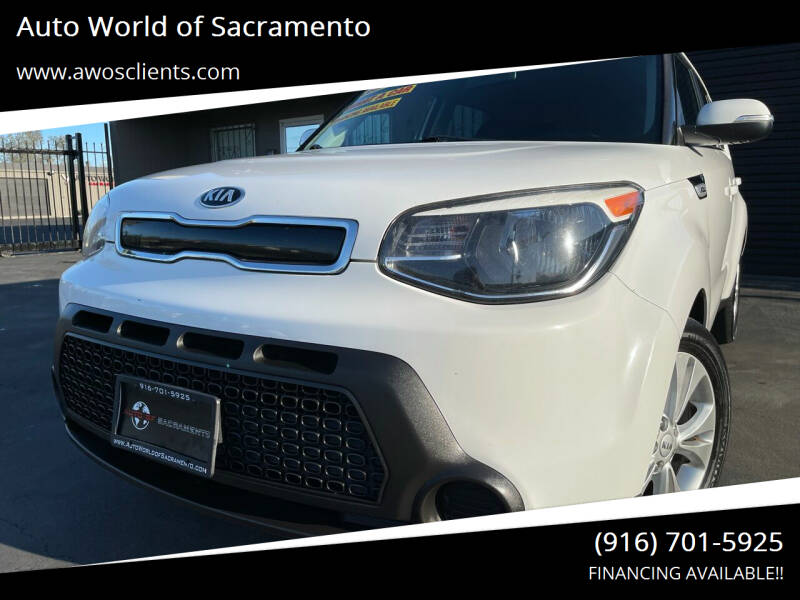 2014 Kia Soul for sale at Auto World of Sacramento Stockton Blvd in Sacramento CA