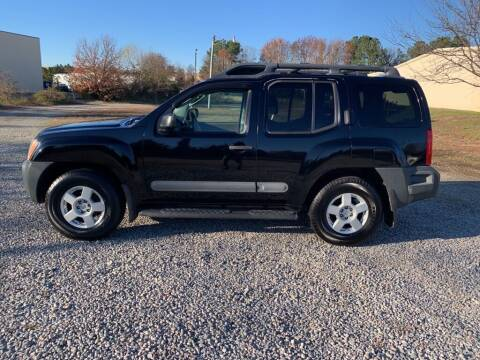 2005 Nissan Xterra for sale at MEEK MOTORS in North Chesterfield VA