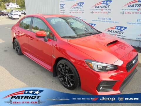 2020 Subaru WRX for sale at PATRIOT CHRYSLER DODGE JEEP RAM in Oakland MD