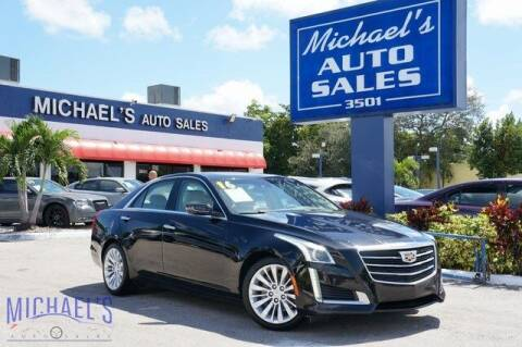 2016 Cadillac CTS for sale at Michael's Auto Sales Corp in Hollywood FL