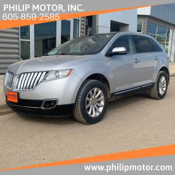 2013 Lincoln MKX for sale at Philip Motor Inc in Philip SD