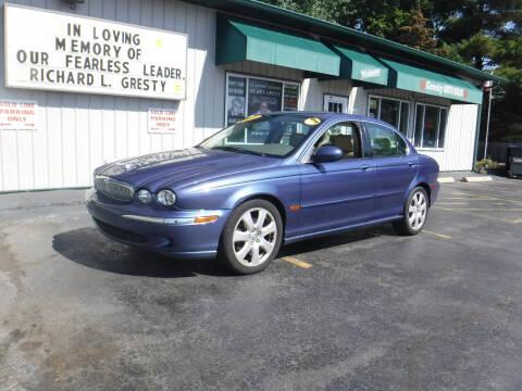2004 Jaguar X-Type for sale at GRESTY AUTO SALES in Loves Park IL