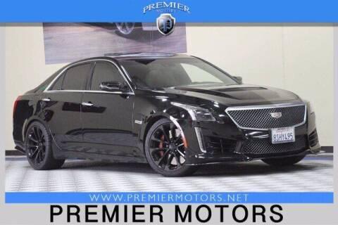 2016 Cadillac CTS-V for sale at Premier Motors in Hayward CA