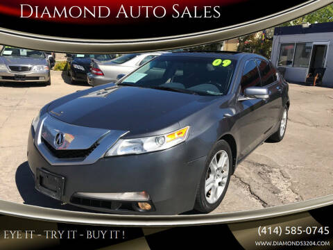 2009 Acura TL for sale at Diamond Auto Sales in Milwaukee WI