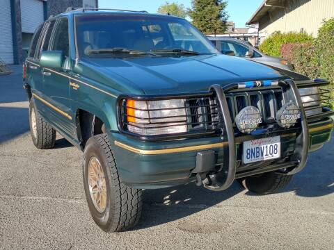 1994 Jeep Grand Cherokee for sale at California Diversified Venture in Livermore CA