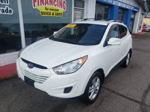 2012 Hyundai Tucson for sale at AutoMotion Sales in Franklin OH