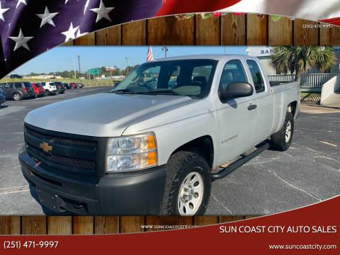 2013 Chevrolet Silverado 1500 for sale at Sun Coast City Auto Sales in Mobile AL
