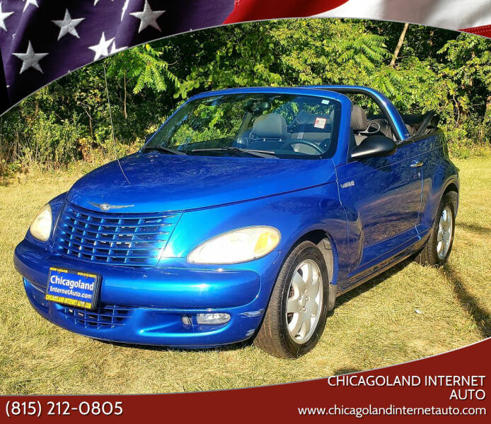 2005 Chrysler PT Cruiser for sale at Chicagoland Internet Auto - 410 N Vine St New Lenox IL, 60451 in New Lenox IL