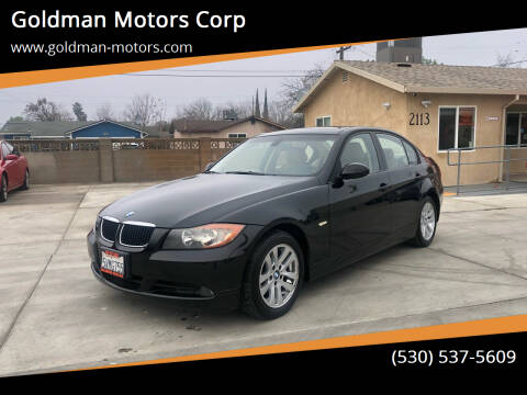 2006 BMW 3 Series for sale at Goldman Motors Corp in Stockton CA