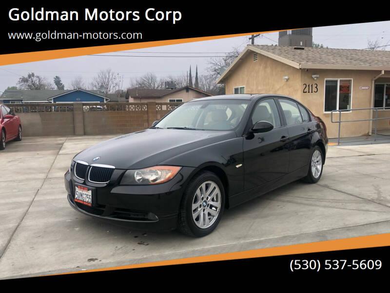 2006 BMW 3 Series for sale at Goldman Motors Corp in Stockton CA