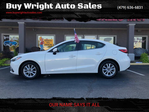2016 Mazda MAZDA3 for sale at Buy Wright Auto Sales in Rogers AR