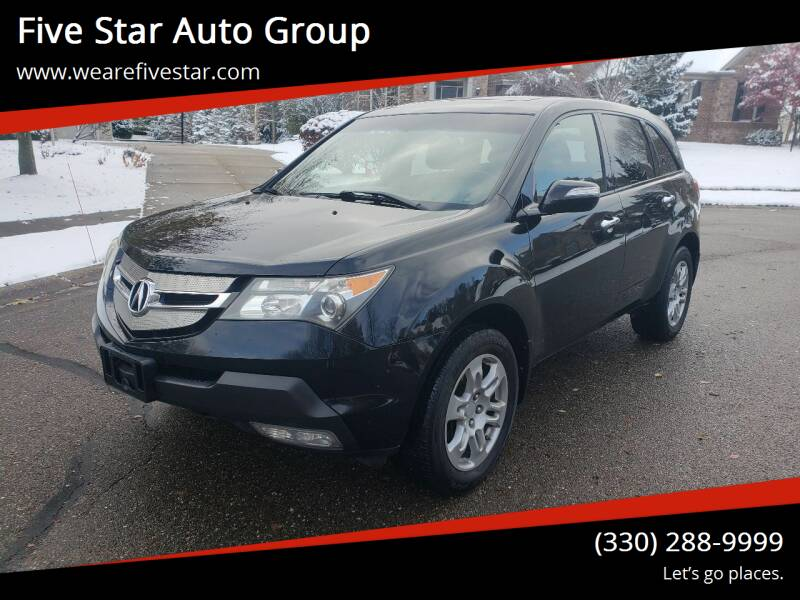 2007 Acura MDX for sale at Five Star Auto Group in North Canton OH