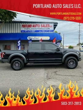 2019 Ford F-150 for sale at PORTLAND AUTO SALES LLC. in Portland OR