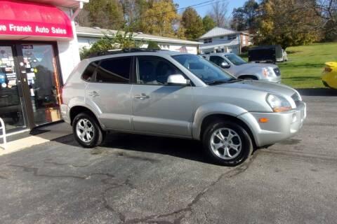 2009 Hyundai Tucson for sale at Dave Franek Automotive in Wantage NJ