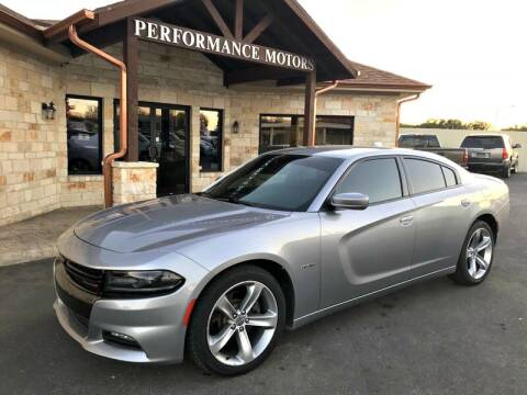 2016 Dodge Charger for sale at Performance Motors Killeen Second Chance in Killeen TX