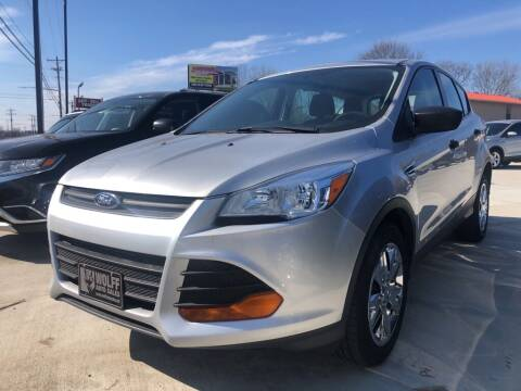 2016 Ford Escape for sale at Wolff Auto Sales in Clarksville TN