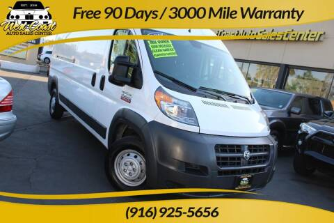 2018 RAM ProMaster Cargo for sale at West Coast Auto Sales Center in Sacramento CA