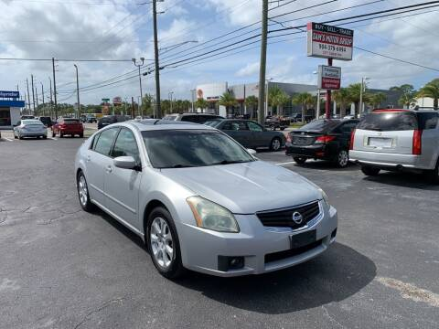 2007 Nissan Maxima for sale at Sam's Motor Group in Jacksonville FL