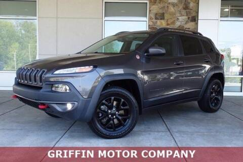 2015 Jeep Cherokee for sale at Griffin Buick GMC in Monroe NC