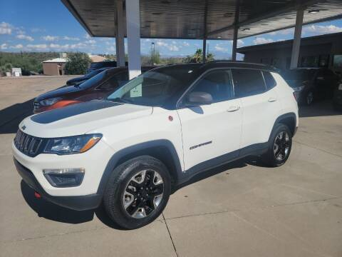 2018 Jeep Compass for sale at Carzz Motor Sports in Fountain Hills AZ