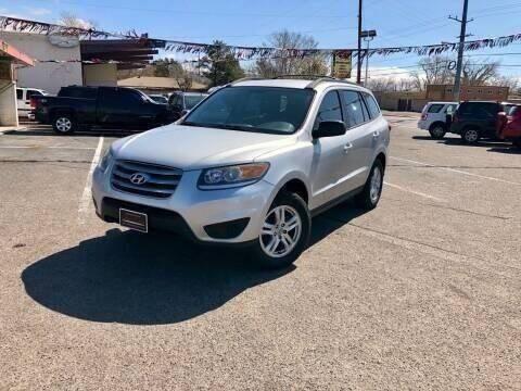 2012 Hyundai Santa Fe for sale at ALBUQUERQUE AUTO OUTLET in Albuquerque NM