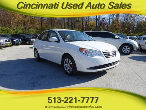 2009 Hyundai Elantra for sale at Cincinnati Used Auto Sales in Cincinnati OH