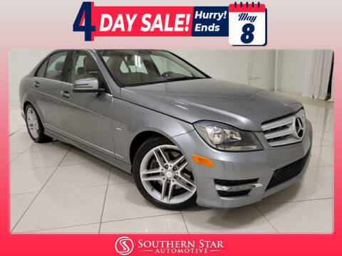 2012 Mercedes-Benz C-Class for sale at Southern Star Automotive, Inc. in Duluth GA