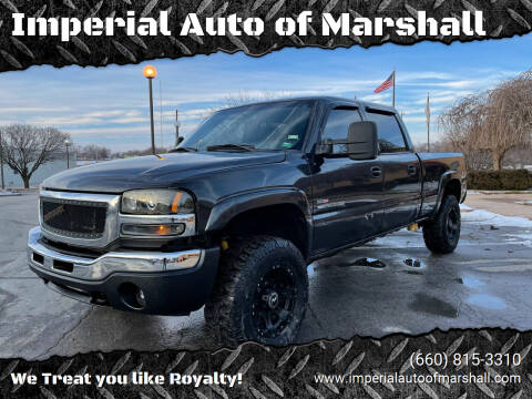 2004 GMC Sierra 2500HD for sale at Imperial Auto of Marshall - Imperial Auto Of Slater in Slater MO