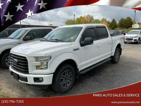 2016 Ford F-150 for sale at Paris Auto Sales & Service in Big Rapids MI