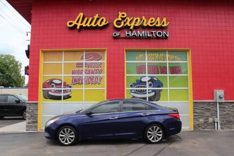 2013 Hyundai Sonata for sale at AUTO EXPRESS OF HAMILTON LLC in Hamilton OH