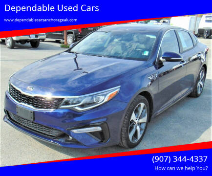2019 Kia Optima for sale at Dependable Used Cars in Anchorage AK