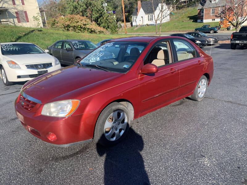 2006 Kia Spectra for sale at KP'S Cars in Staunton VA