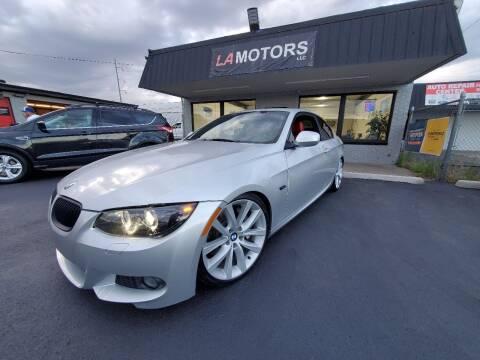 2012 BMW 3 Series for sale at LA Motors LLC in Denver CO