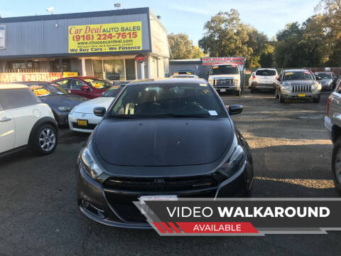 2015 Dodge Dart for sale at Car Deal Auto Sales in Sacramento CA