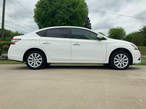 2015 Nissan Sentra for sale at HIGHWAY 12 MOTORSPORTS in Nashville TN