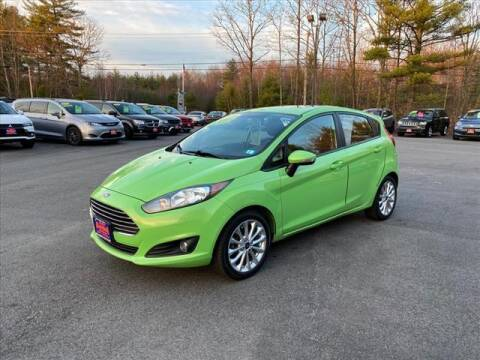 2014 Ford Fiesta for sale at North Berwick Auto Center in Berwick ME
