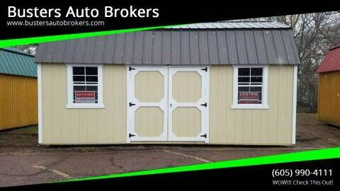 2021 Old Hickory Building 10 X 20 Side Lofted Barn for sale at Busters Auto Brokers in Mitchell SD