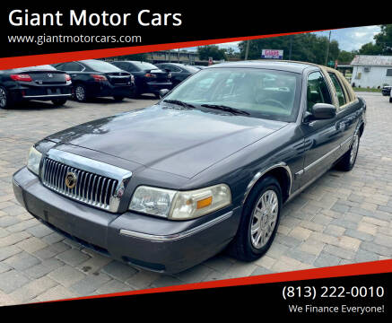 2007 Mercury Grand Marquis for sale at Giant Motor Cars in Tampa FL