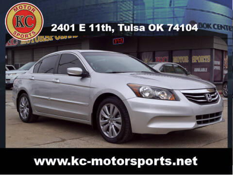 2012 Honda Accord for sale at KC MOTORSPORTS in Tulsa OK