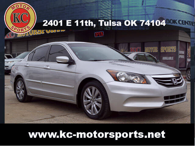 2012 Honda Accord for sale at KC MOTORSPORTS in Tulsa OK
