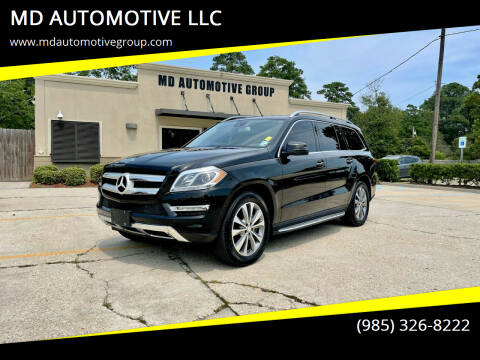 2015 Mercedes-Benz GL-Class for sale at MD AUTOMOTIVE LLC in Slidell LA