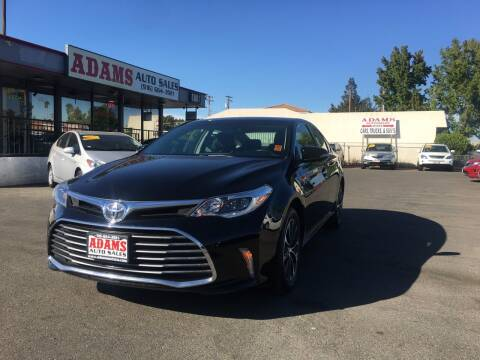 2016 Toyota Avalon for sale at Adams Auto Sales in Sacramento CA