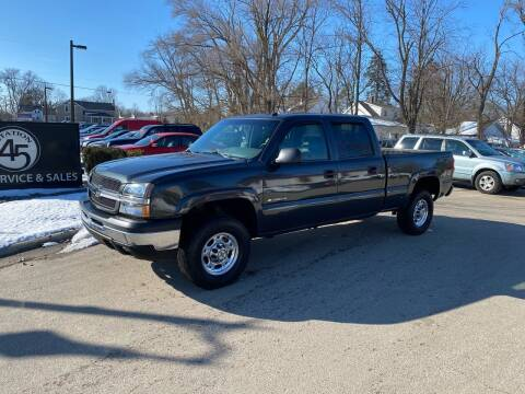 2003 Chevrolet Silverado 1500HD for sale at Station 45 Auto Sales Inc in Allendale MI