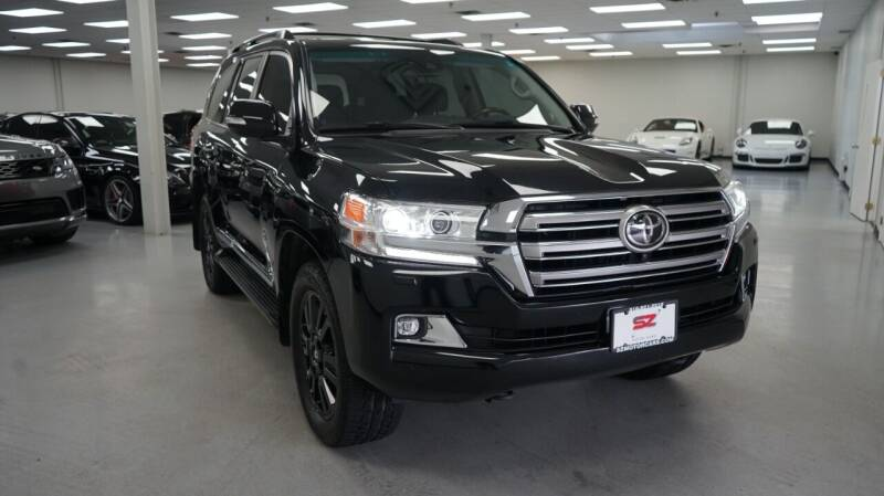 2017 Toyota Land Cruiser for sale at SZ Motorcars in Woodbury NY