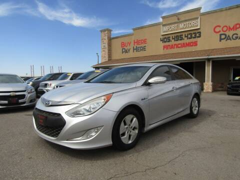 2012 Hyundai Sonata Hybrid for sale at Import Motors in Bethany OK